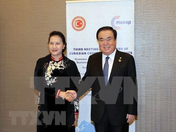 Vietnam reafirma disposicion de agilizar nexos parlamentarios con paises en el mundo hinh anh 1