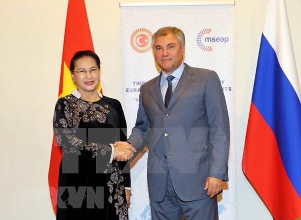 Vietnam y Rusia coinciden en importancia de establecer comite interparlamentario bilateral hinh anh 1