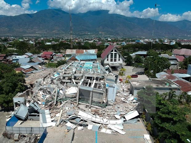 Indonesia acelera trabajos para superar consecuencias de sismo y tsunami hinh anh 1