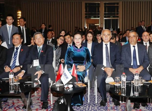 Presidenta del Parlamento resalta significado del Foro de Negocios e Inversion Turquia-Vietnam hinh anh 1