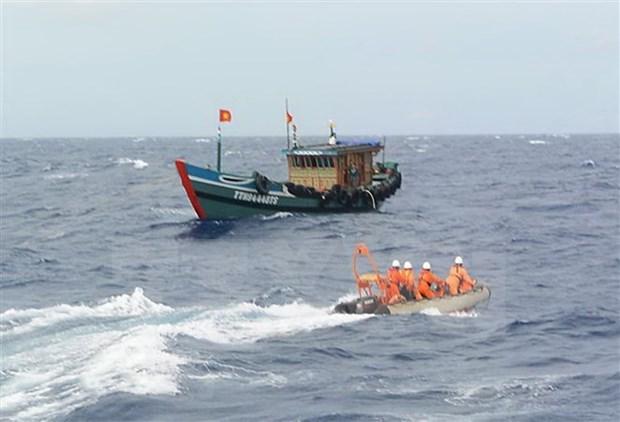 Pescadores vietnamitas equipados con conocimientos sobre ley de explotacion maritima hinh anh 1