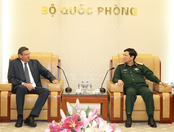 Vietnam e Israel fortifican cooperacion en politicas de defensa hinh anh 1