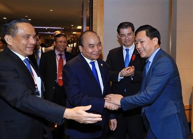 Vietnam estimula inversiones japonesas, segun el primer ministro hinh anh 1