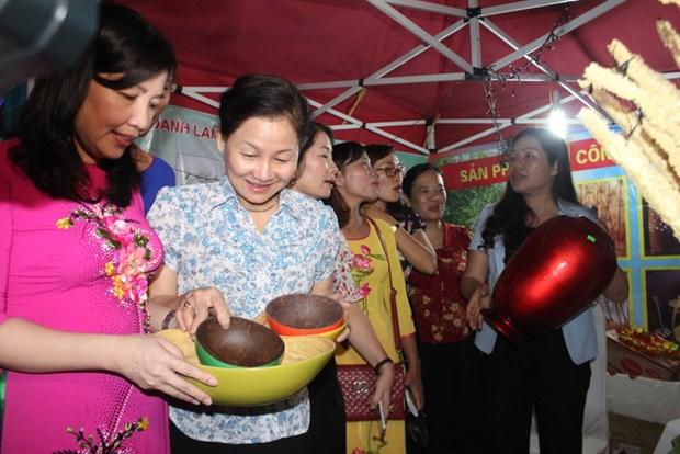 Provincia vietnamita de Thanh Hoa honra a mujeres creativas hinh anh 1