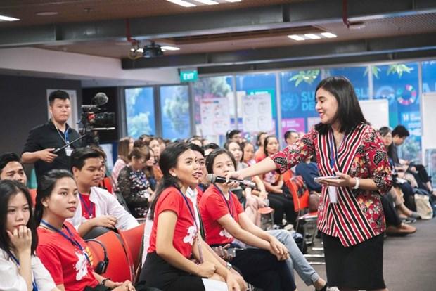 Jovenes de ASEAN dialogan sobre igualdad de genero hinh anh 1
