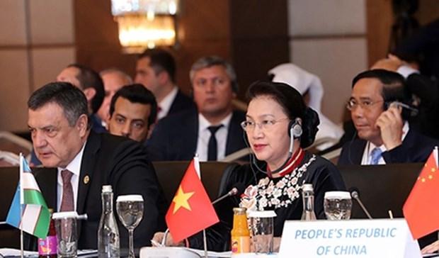 Parlamentos de paises euroasiaticos aprueban Declaracion de Antalya hinh anh 1