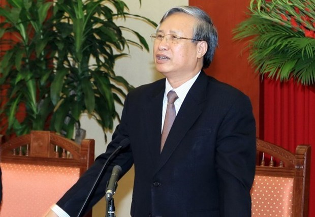 Delegacion del Partido Comunista de Vietnam realiza visita a Laos hinh anh 1