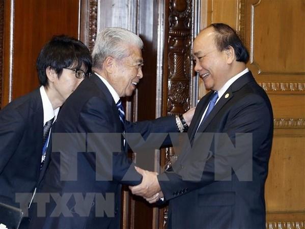 Premier de Vietnam aboga por robustecer nexos con Japon hinh anh 1