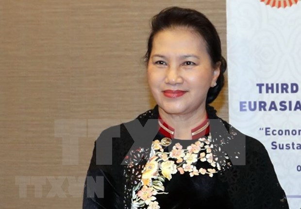 Presidenta de Vietnam efectua visita oficial a Turquia hinh anh 1