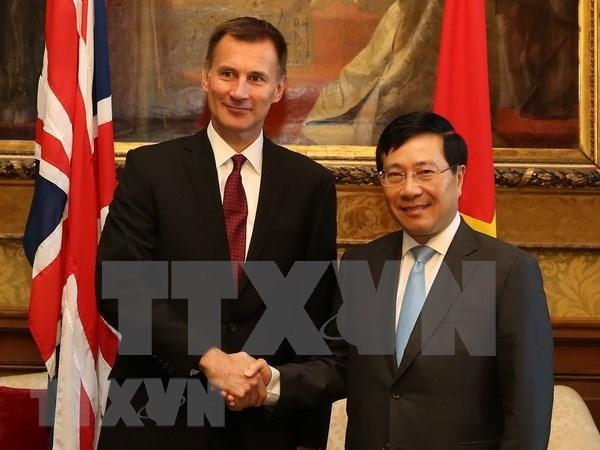 Vietnam y Reino Unido acuerdan mantener consultas sobre temas de interes comun hinh anh 1