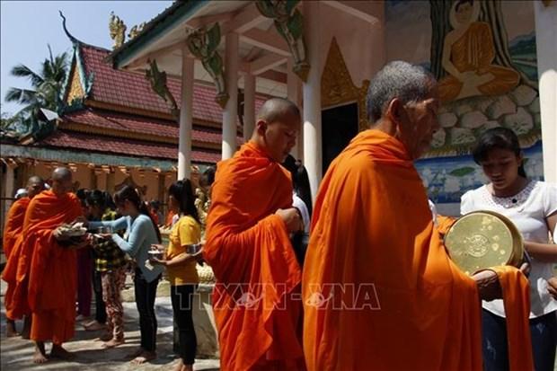 Comunidad de etnia Khmer celebra festival de Sene Dolta hinh anh 1