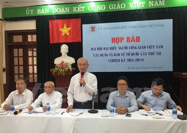 Congreso destaca aportes de catolicos a la construccion y defensa nacional de Vietnam hinh anh 1