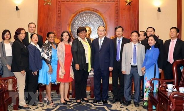 Ciudad Ho Chi Minh y Cuba fomentan cooperacion bilateral hinh anh 1