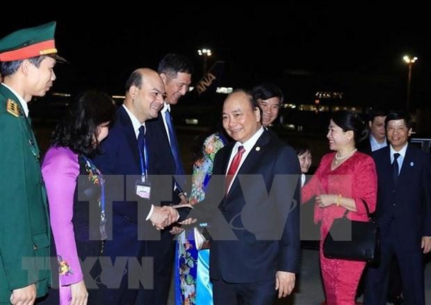 Premier de Vietnam concluye intensa agenda en X Cumbre Mekong-Japon y visita a Tokio hinh anh 1