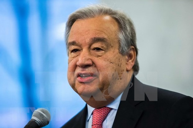Secretario general de ONU visitara zonas afectadas por desastres naturales en Indonesia hinh anh 1