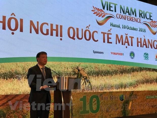 Vietnam por promover su marca de arroz en mercado global hinh anh 1