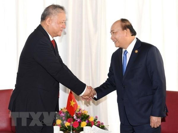 Premier de Vietnam recibe a ejecutivo de empresa indonesia de Nikko hinh anh 1
