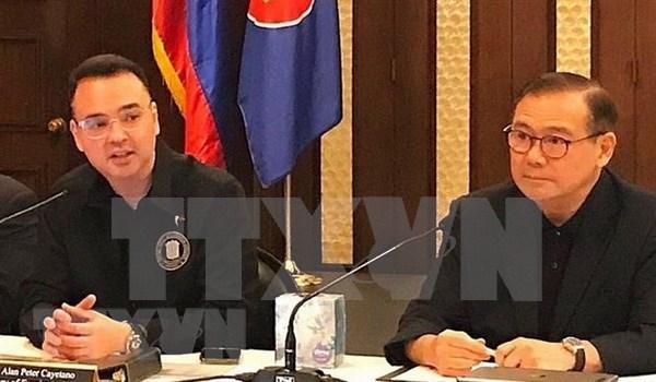 Filipinas nombra nuevo ministro de Asuntos Exteriores hinh anh 1