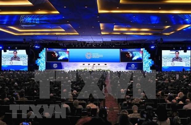 Conferencia FMI-BM: Indonesia alerta de crecientes desafios para crecimiento global hinh anh 1