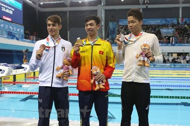 Vietnam conquista segunda medalla de oro en Juegos Olimpicos de la Juventud en Argentina hinh anh 1