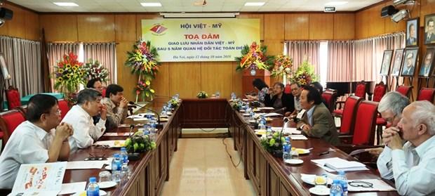 Vietnam y Estados Unidos impulsan relaciones entre ambos pueblos hinh anh 1