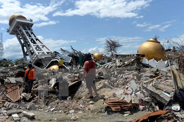 Terremoto de 5,2 grados de Richter sacude varias localidades indonesias hinh anh 1
