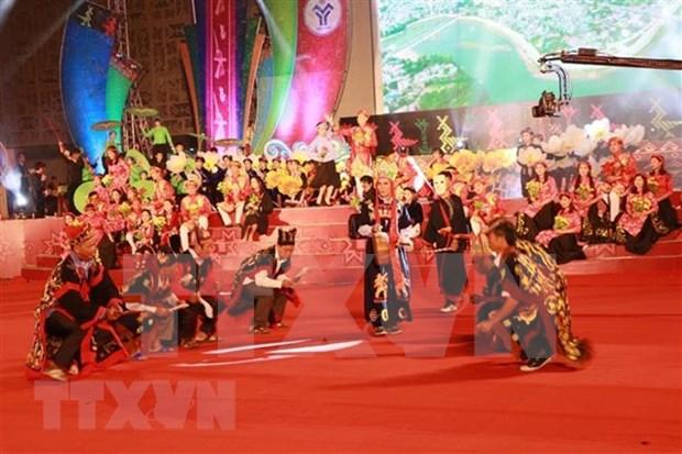 Inauguran Semana de Cultura y Turismo de Muong Lo en provincia vietnamita de Yen Bai hinh anh 1