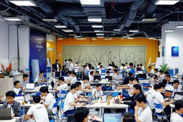 Inauguran en Hanoi mayor competencia de desarrollo de productos tecnologicos de Europa hinh anh 1