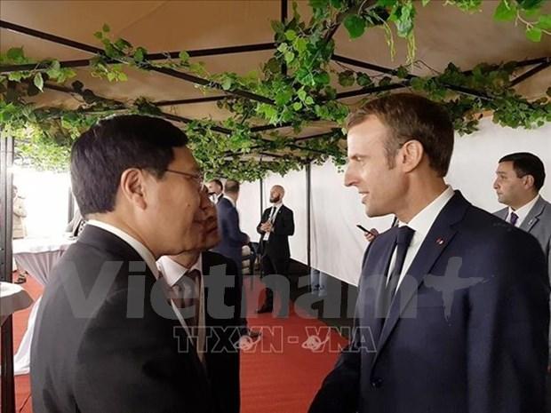 Vietnam exhorta una cooperacion intensiva dentro de la comunidad francofonica hinh anh 1
