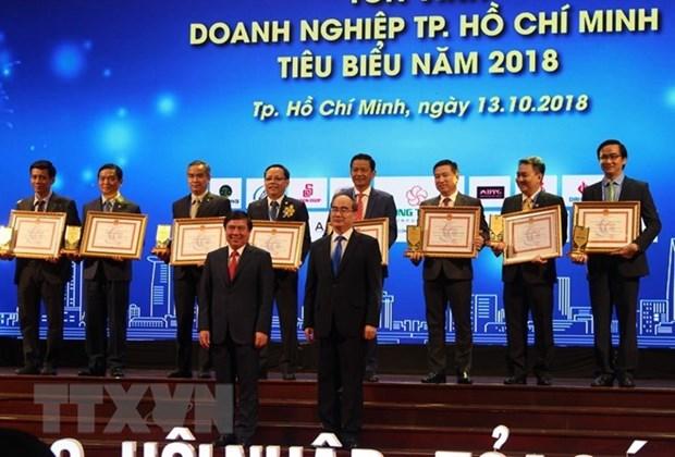 Ciudad Ho Chi Minh honra a empresas sobresalientes hinh anh 1