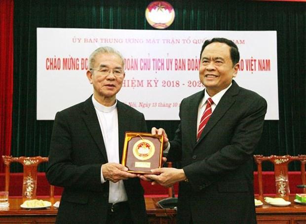 Comunidad catolica de Vietnam ratifica compromiso con desarrollo nacional hinh anh 1