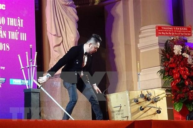 Inauguran en Ciudad Ho Chi Minh Festival Nacional de Magia 2018 hinh anh 1