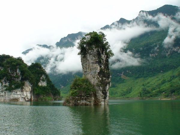 Reserva natural Na Hang reconocida como tesoro nacional de Vietnam hinh anh 1