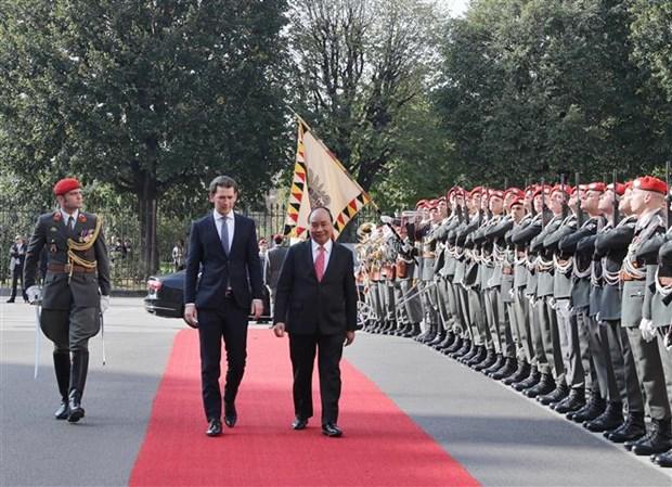 Vietnam y Austria decididos a promover nexos economicos hinh anh 1