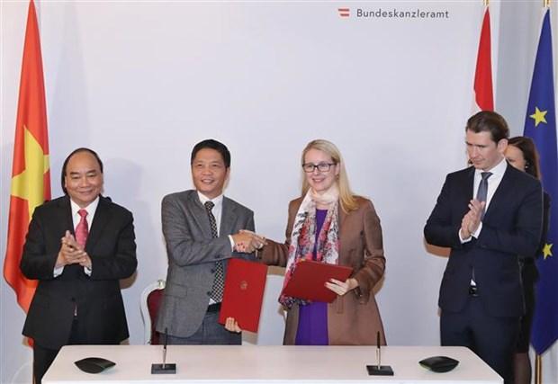 Austria aboga por ratificacion pronta de TLC entre Vietnam y Union Europea hinh anh 1