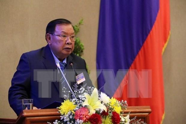 Laos promulga Ley de Control de Deudas Publicas para atenuar situacion del Estado hinh anh 1