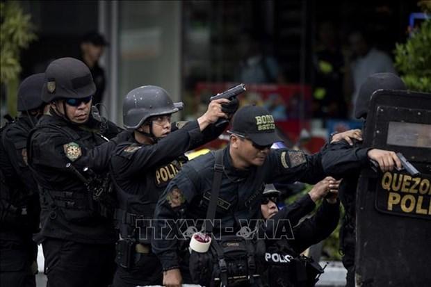 Policia filipina elimina a terroristas de ISIS hinh anh 1