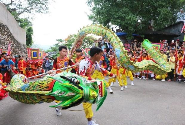 Festival tradicional en provincia vietnamita aspira a convertirse en patrimonio mundial hinh anh 1