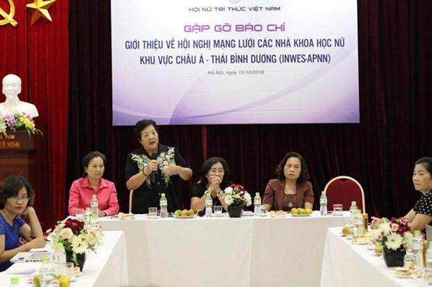 Cientificas de paises de Asia – Pacifico se daran cita en Hanoi hinh anh 1