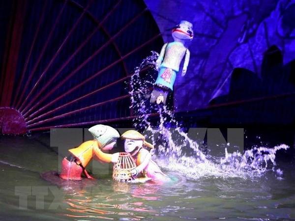 Clausuran en Hanoi festival internacional de marionetas 2018 hinh anh 1
