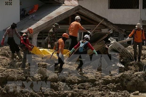 Samsung Electronics ofrece 600 mil dolares a Indonesia para aliviar secuelas de sismo hinh anh 1