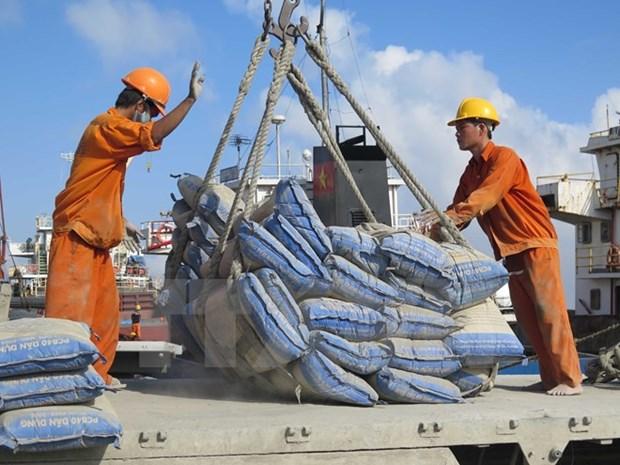 Aumento impresionante de exportacion vietnamita de cemento y clinker en nueve meses hinh anh 1