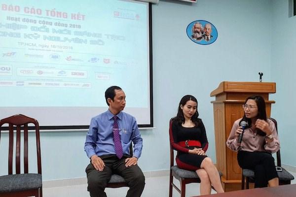 Estudiantes vietnamitas prestan mayor atencion al emprendimiento hinh anh 1