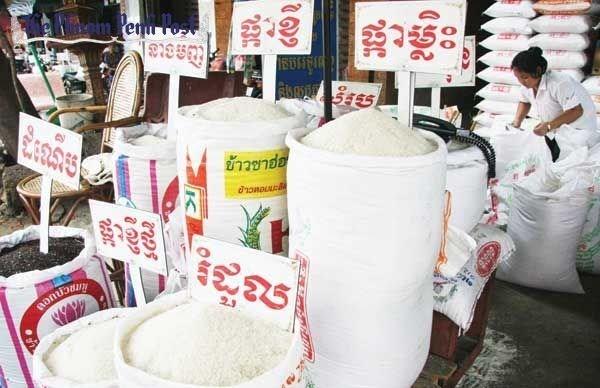 Reducen exportaciones de arroz de Camboya hinh anh 1