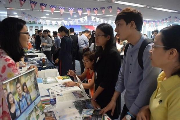 Mas de 22 mil 400 vietnamitas estudiaron en Estados Unidos hinh anh 1