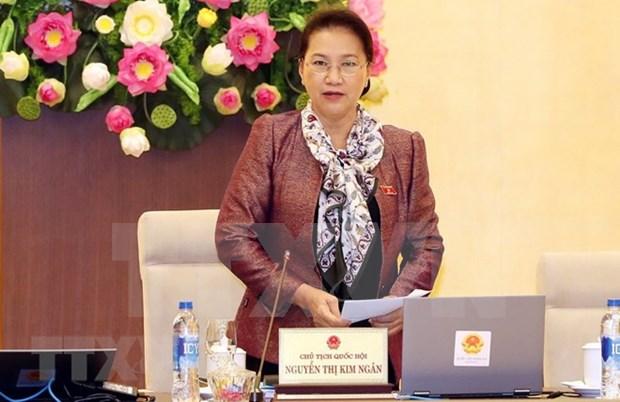 Comite Permanente del Parlamento de Vietnam concluye su reunion 28 hinh anh 1
