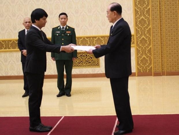 Corea del Norte reafirma importancia concedida a relaciones tradicionales con Vietnam hinh anh 1