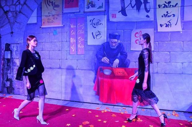 Colores del otono tinen a la moda en Vietnam hinh anh 7