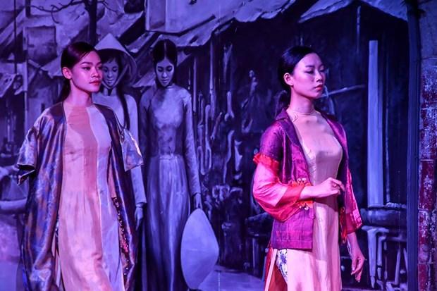 Colores del otono tinen a la moda en Vietnam hinh anh 9