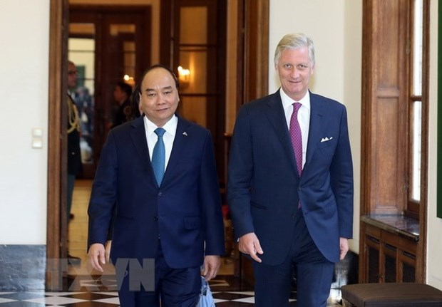Vietnam concede gran importancia a nexos con Belgica, afirma premier hinh anh 1